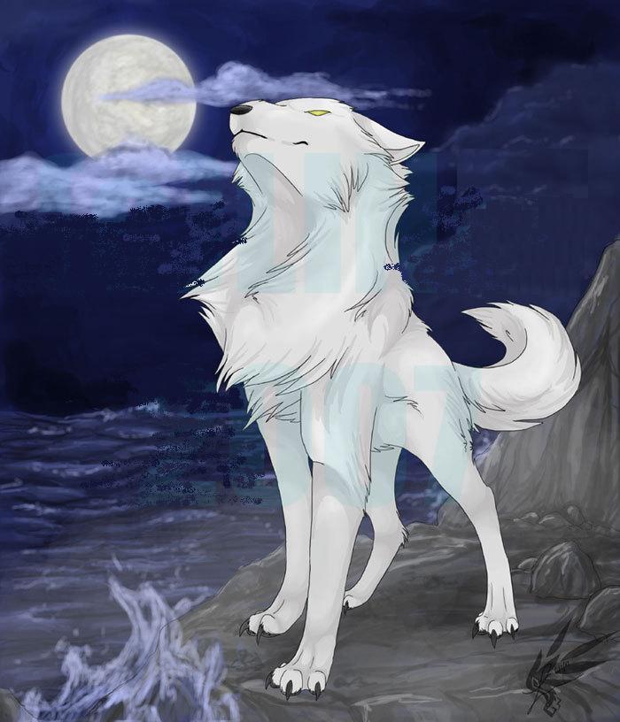 Пастушка и белый волк